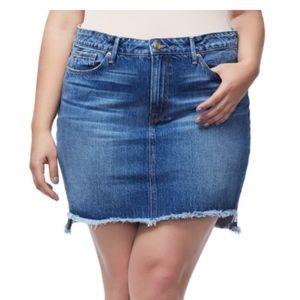 NWT Good American Jean Skirt Plus Size 24